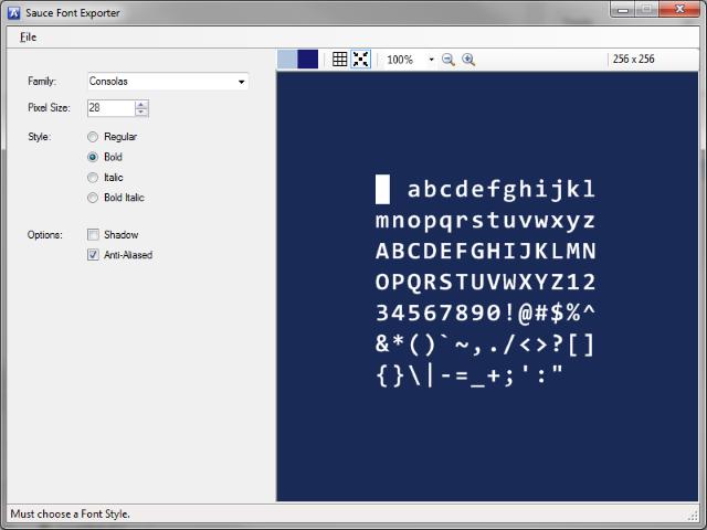 Font Exporter